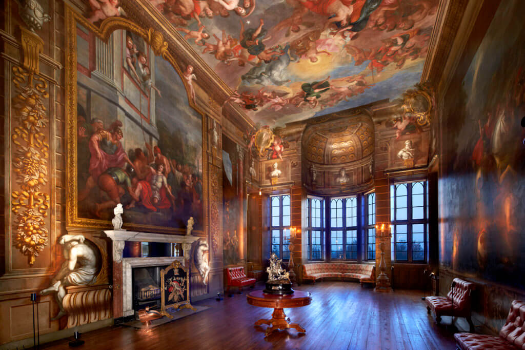 Burghley House - Bow Room