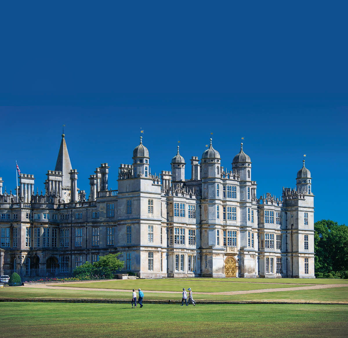 Burghley House - North West side