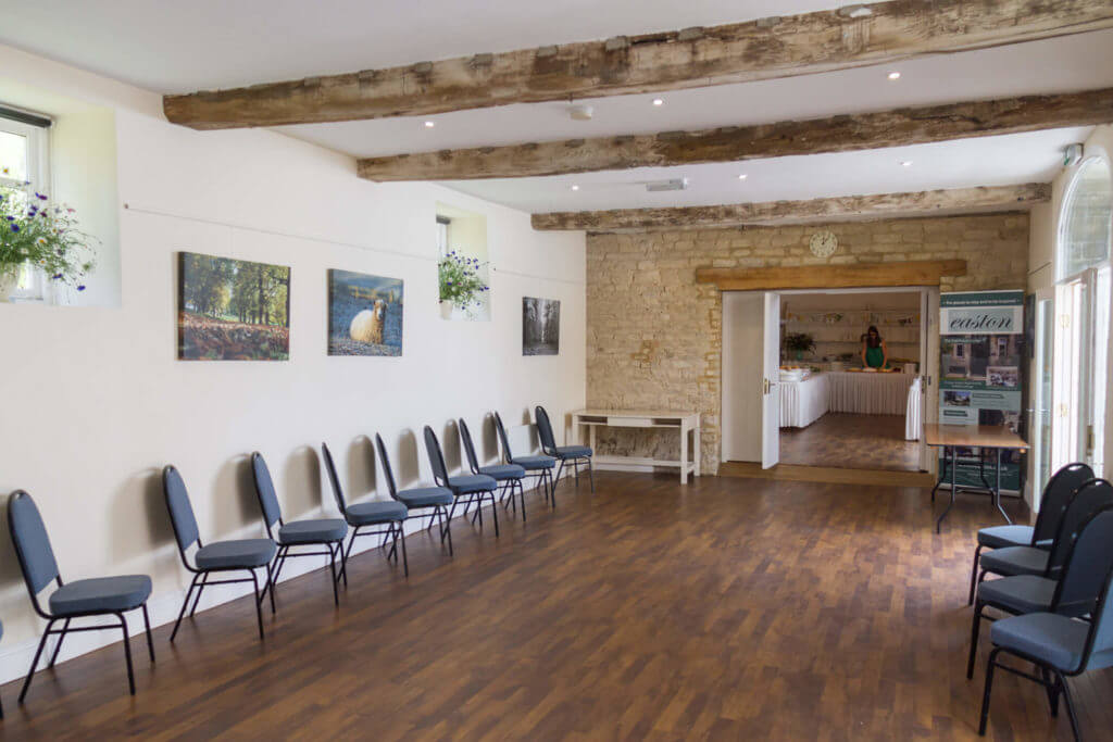Easton Walled Gardens meeting room