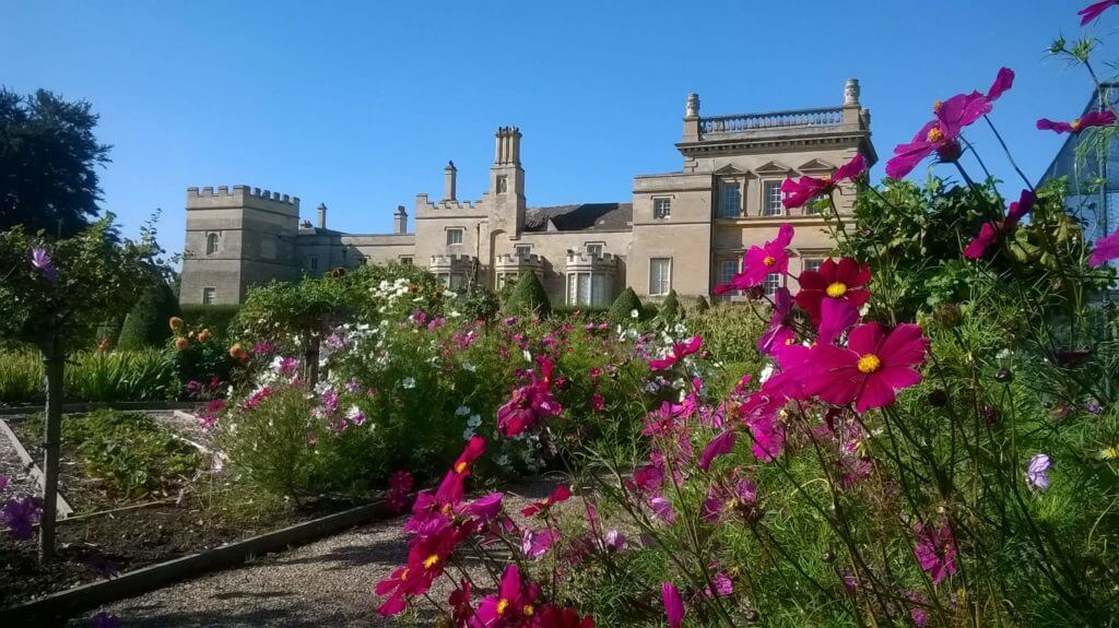 Grimsthorpe kitchen garden