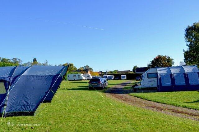 Low Farm Park caravans