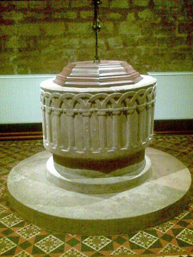 Priory Church font