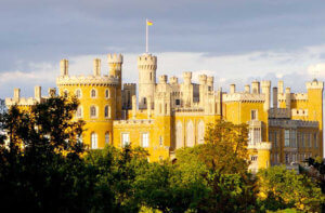 Belvoir Castle in sunshine