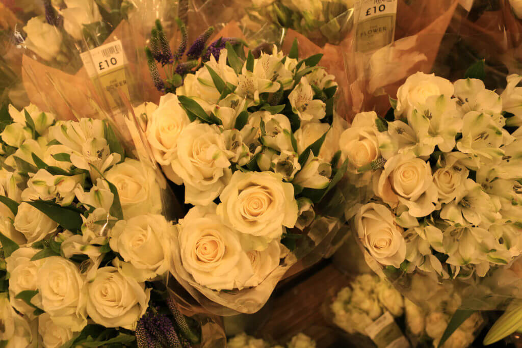 M&S Bourne flowers