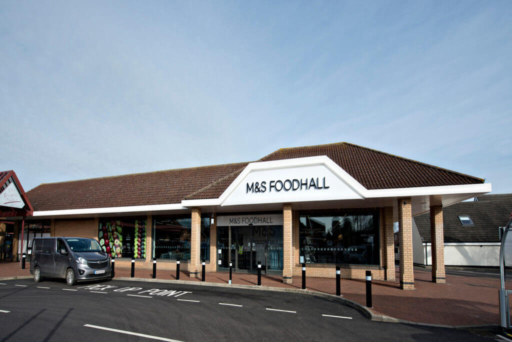 M&S Bourne exterior