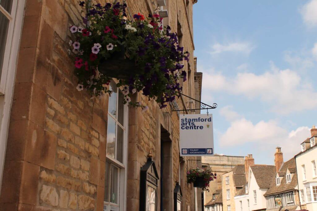 Stamford Arts Centre sign