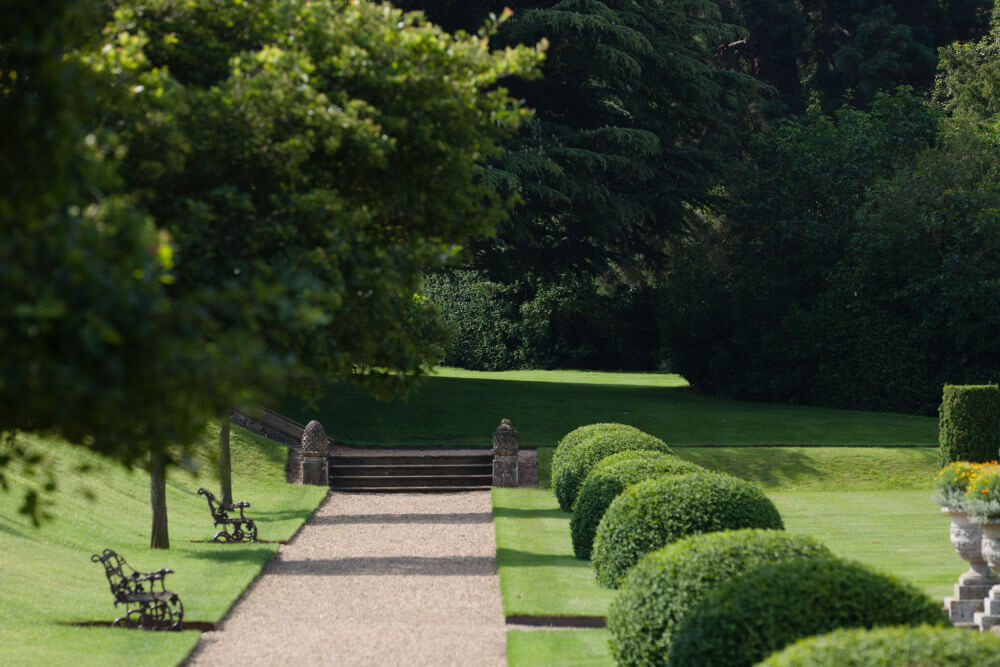 Belton House topiary