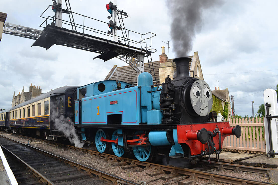 Nene Valley Railway Thomas the Tank train