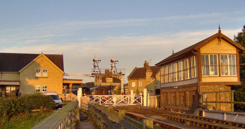 Nene Valley Railway at Level Crossing