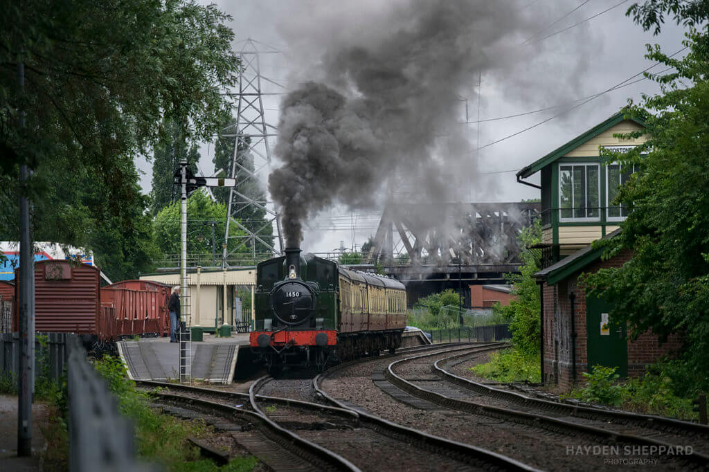 Nene Valley Railway steam train