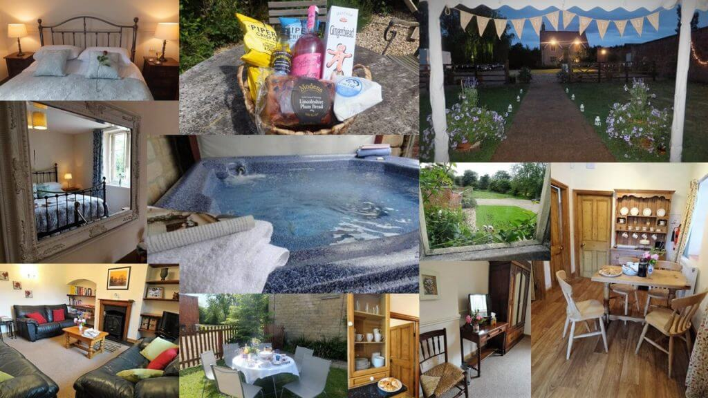 Fulbeck Gardens Cottage montage pics