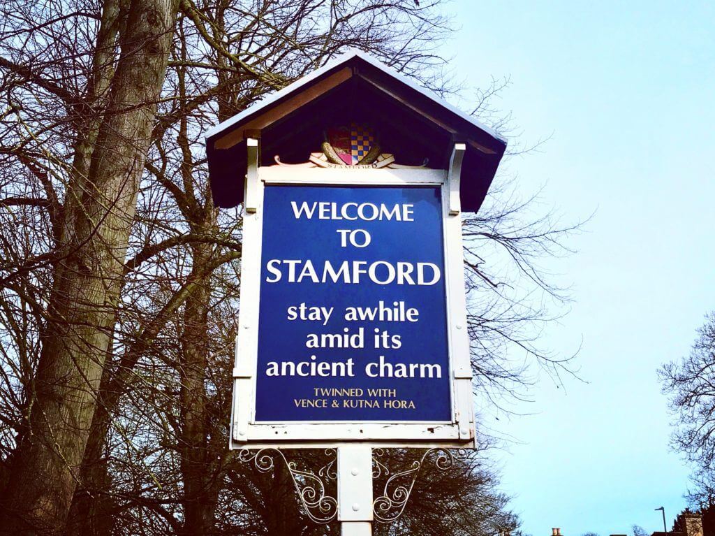 Stamford Sights & Secrets Tours Welcome to Stamford Sign
