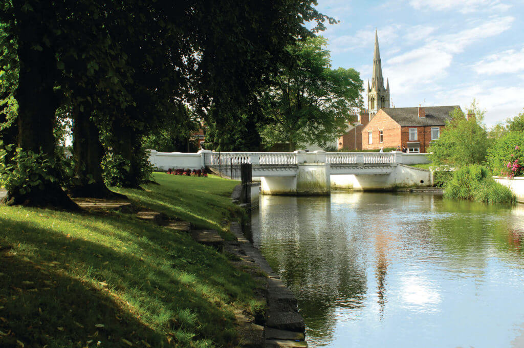 A quality twon park woth riverside walk, cycle trails, visitor centre, tea room and playgrounds