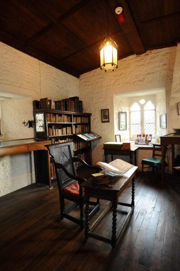 St Wulfram's Church in Grantham - the ancient Trigge Library