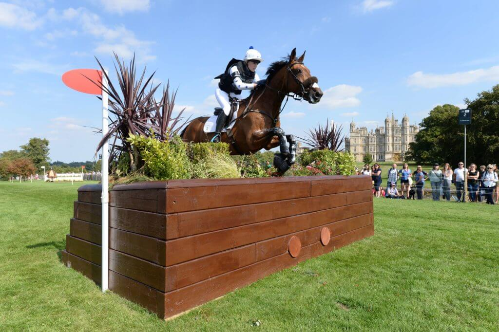Abigail Boulton at Burghley