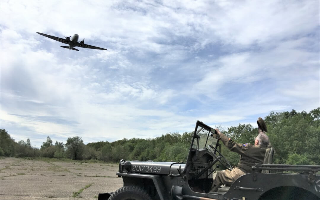 US Veteran Pilot Returns to WWII airfield