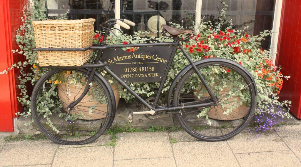 St Martins Antiques - Bike ad