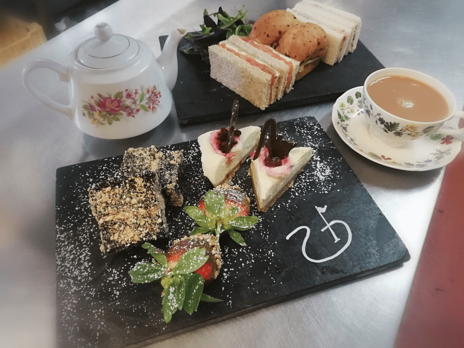 Toft afternoon tea