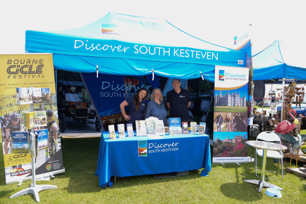 Discover South Kesteven marquee