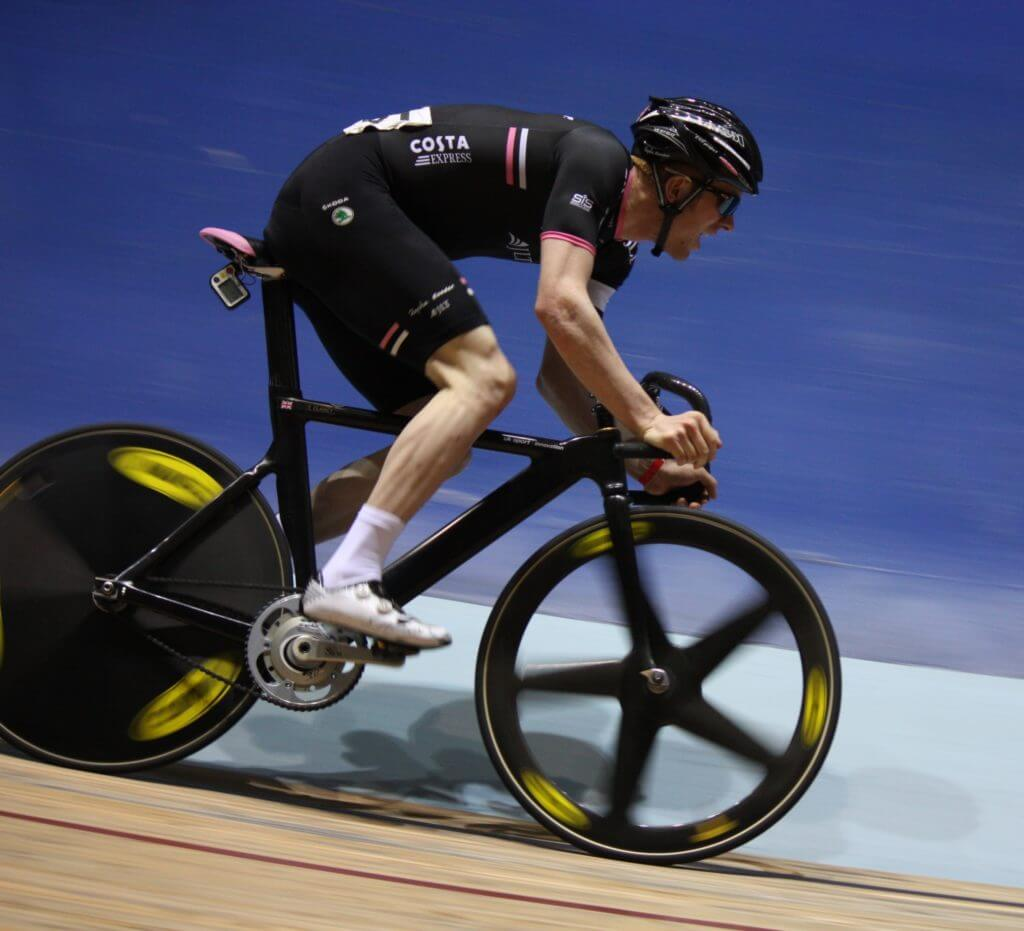 Ed Clancy in action