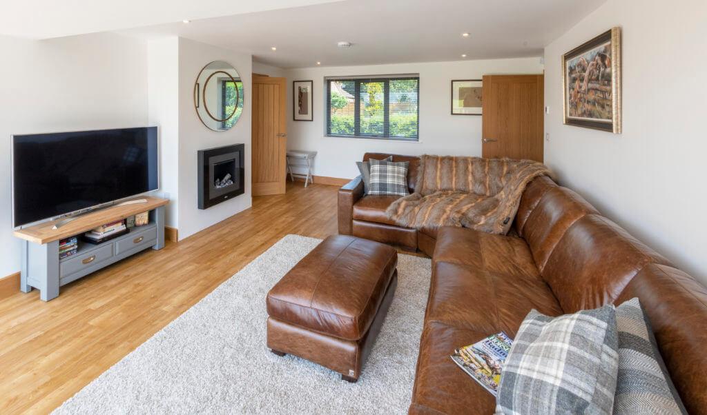 Honington Grange April Cottage living area