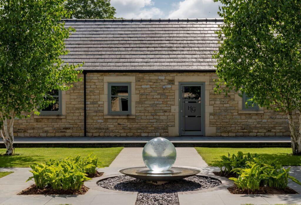 Honington Grange Cottages Courtyard