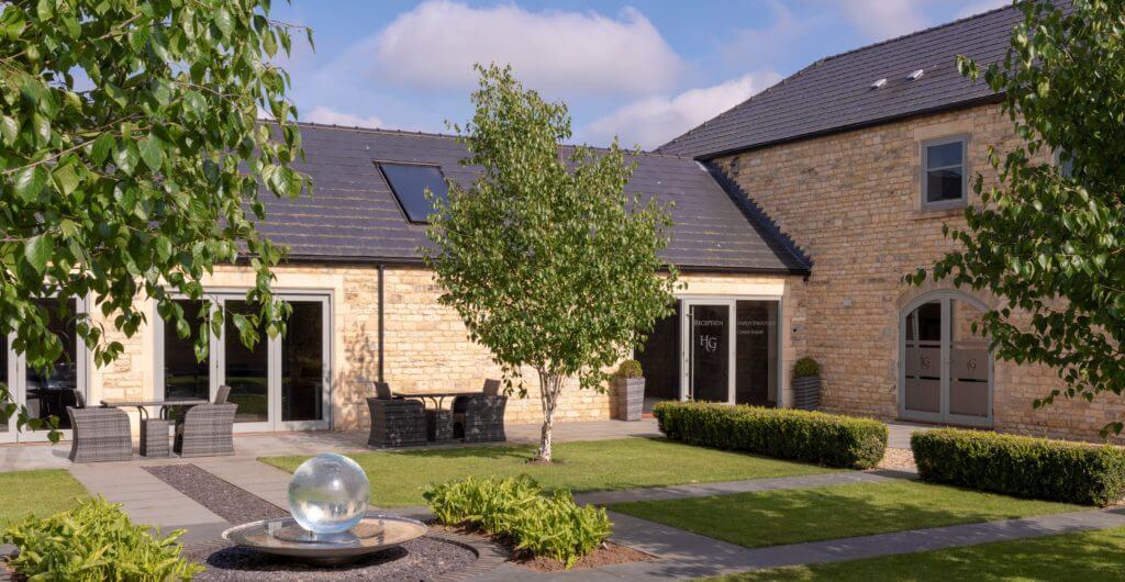 Honington Grange meetings courtyard
