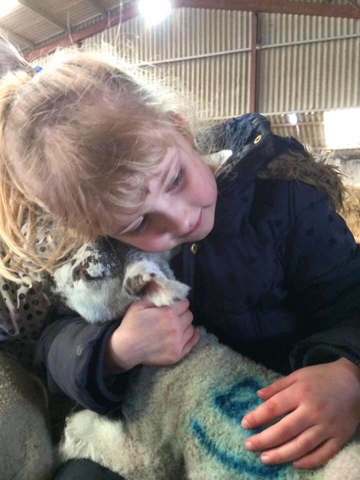 Bowthorpe Oak lamb & child