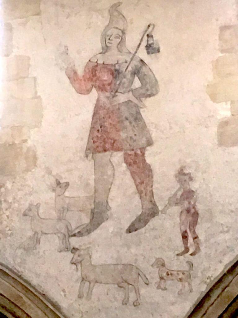 St Johns Corby Glen fresco
