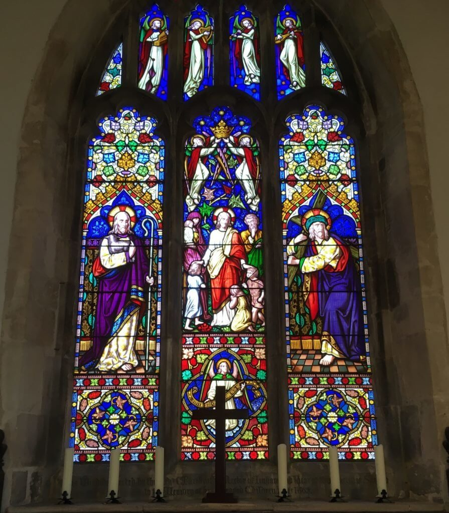 St Johns Corby Glen windows