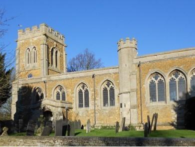 St Lawrence Sedgebrook exterior