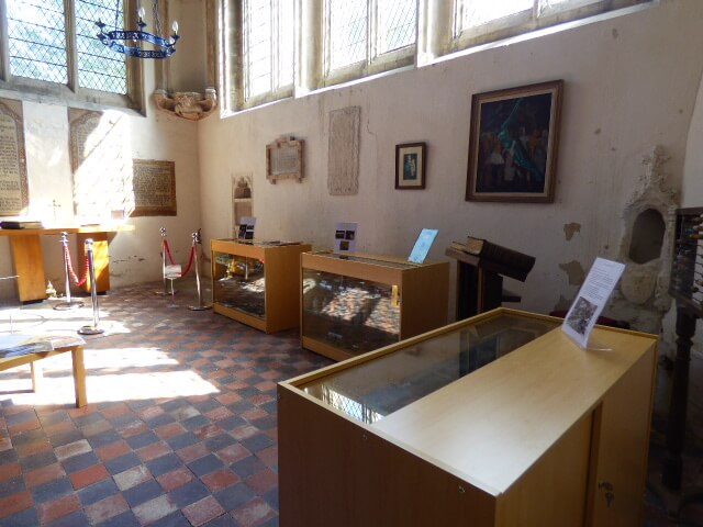 St Lawrence Sedgebrook museum area