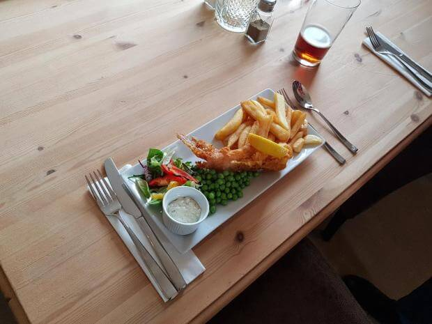 Thorold Arms Mini Fish and Chips