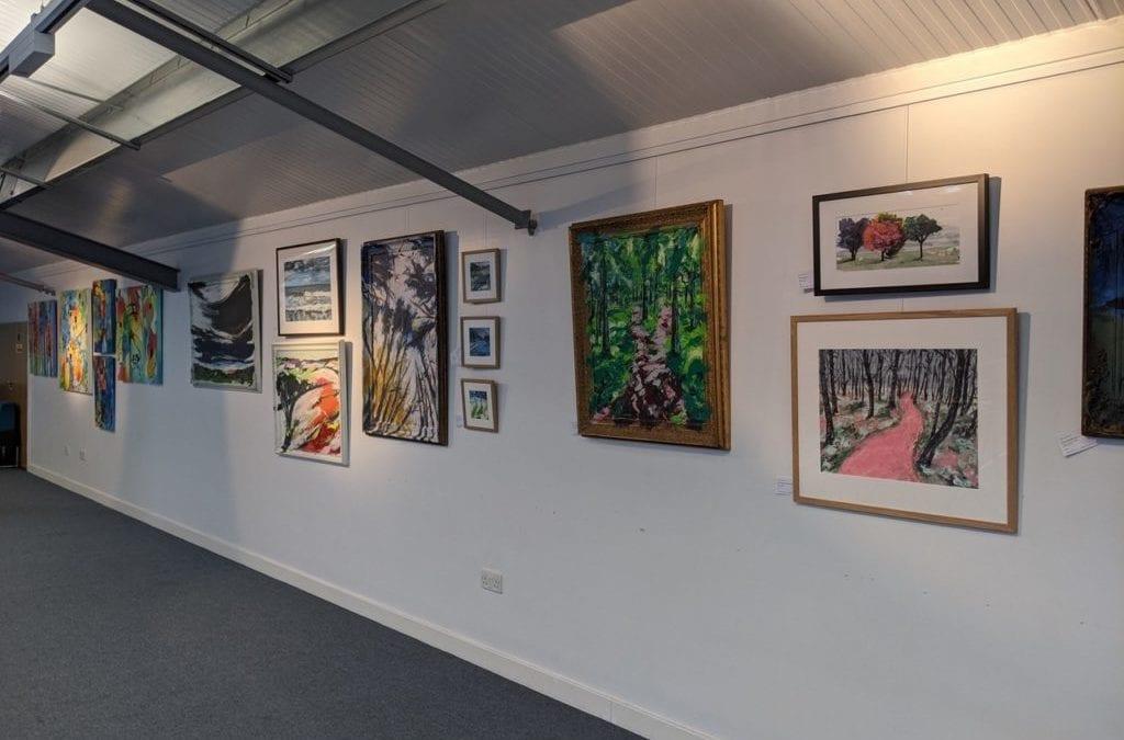 Blue Owl Art Gallery