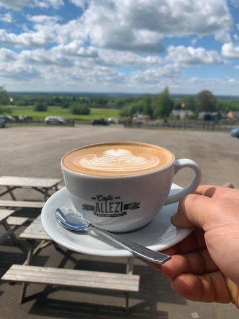 Cafe Allez! at Belvoir Castle